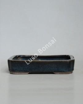 Vaso rectangular c/ lago 20x15x4 cm
