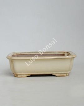 Vaso Rectangular 21.5x16x6 cmCreme