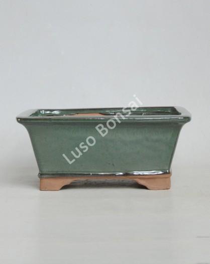 Vaso Rectangular 31x25x10,5 cm Verde
