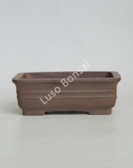Vaso Rectangular 16x12x5.5 cm SE Escuro