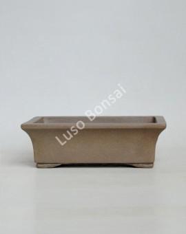 Vaso Rectangular 21x17x6.5 cm SE Claro