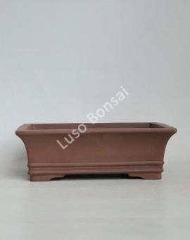 Vaso Rectangular 26x20x8 cm SE Escuro
