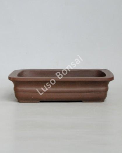 Vaso rectangular 36x29x9.5 cm SE Escuro