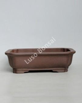 Vaso rectangular 26x20,5x7 cm SE Escuro
