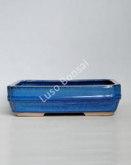 Vaso Rectangular 32,5x24x8 cm Azul