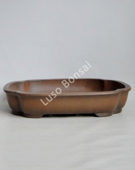 Vaso Rectangular 42x33x7 cm SE Escuro