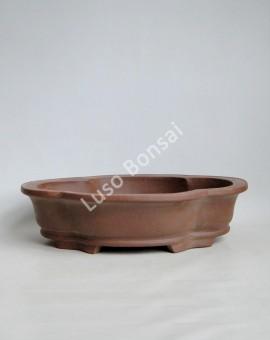 Vaso Oval 43.5x34x10.5 cm SE Escuro