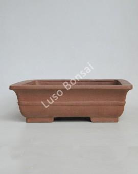 Vaso Rectangular 30.5x24x8 cm SE Escuro