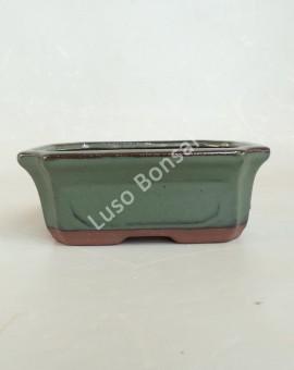 Vaso Rectangular 15.5x11.5x5 cmVerde
