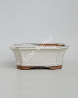 Vaso Rectangular 31x25,5x9cm Creme