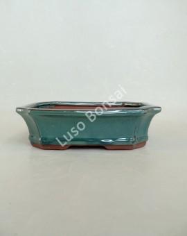 Vaso Rectangular 21x15,7x6,5 cm Verde
