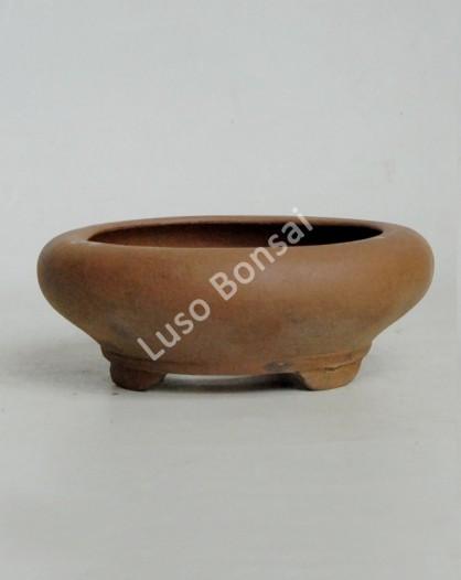 Vaso Redondo 15x5,5 cm SE Escuro
