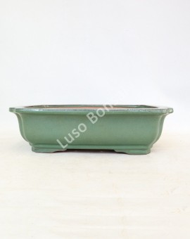 Vaso rectangular 35x26,6x10 cmVerde