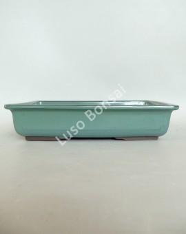 Vaso Rectangular 25,5x17,5x5,5 cm Verde