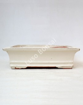 Vaso Rectangular 36x29,5x10,5 cm Creme