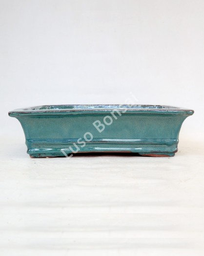 Vaso Rectangular 36x29,5x10,5 cm Verde