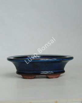 Vaso Oval 17x12x5.2 KO Azul