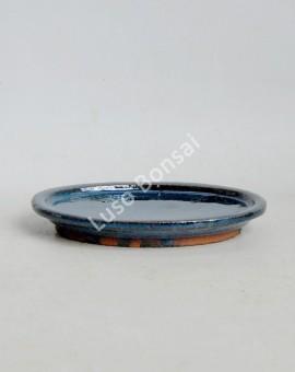 Prato oval 15.5x11x1.5 cm Azul